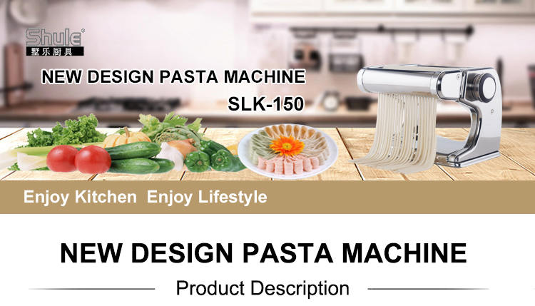 Shule New Design Stainless Steel Manual Pasta Making Machine with Single Cutter