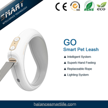 Hightech pet supplies retractable smart dog leash with flashlight equipped with PETKIT APP