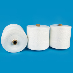 China Manufacturer Raw White Spun Polyester Thread Bobbin