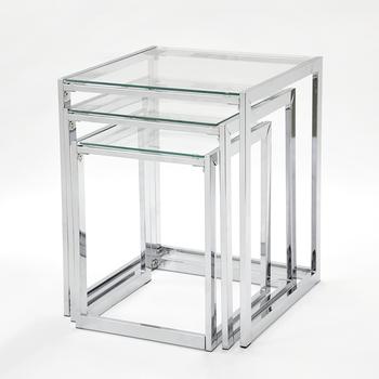 Theetafel Glas Chroom.3 Stuks Fancy Rechthoek Glas Koffie En Thee Tafel Buy Glas Tafel Set Rechthoek Glas Tafel Gehard Glas Bureau Product On Alibaba Com