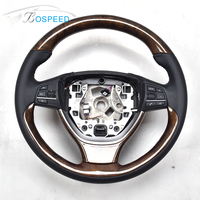 High Gloss Finish Wood Steering Wheel For BMW 5 Series F10