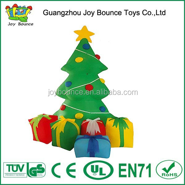 beautiful christmas inflatable ,giant inflatable christmas tree