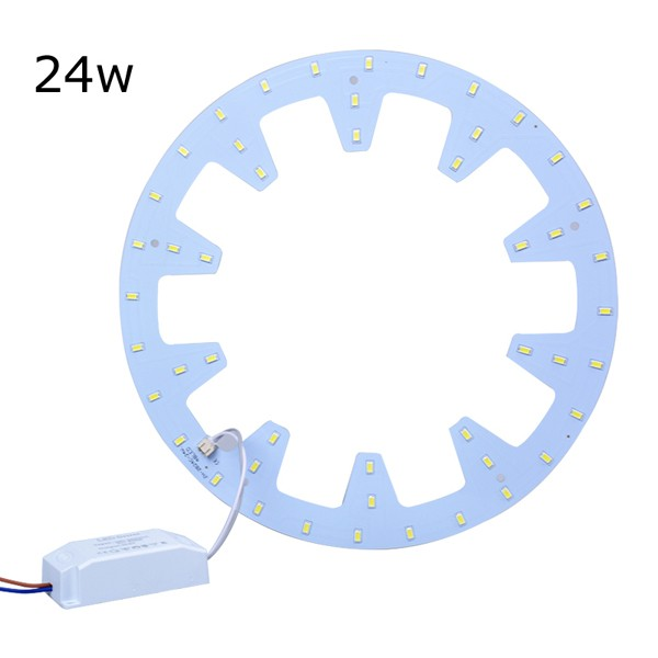 12W 18W 24W ring gear shape LED PCB for flush mounted ceiling lamp