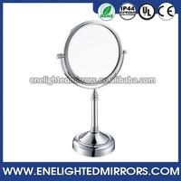 America Popular style bathroom mirror LED fancy vanity lighted shaving mirrors