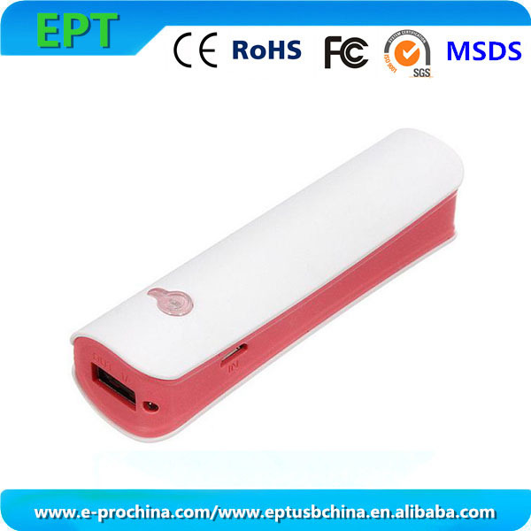 Sixy Video Rechargable Power Bank 2600mah For Travel