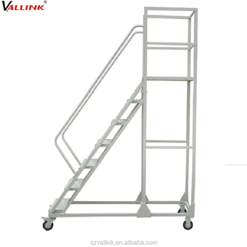 Beau High Quality Mobile Portable Stairs With Handrail