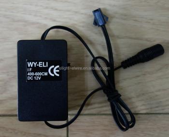 WY-ELI-IF-400-600cm EL wire Constant&Flash Inverter / el wire ...