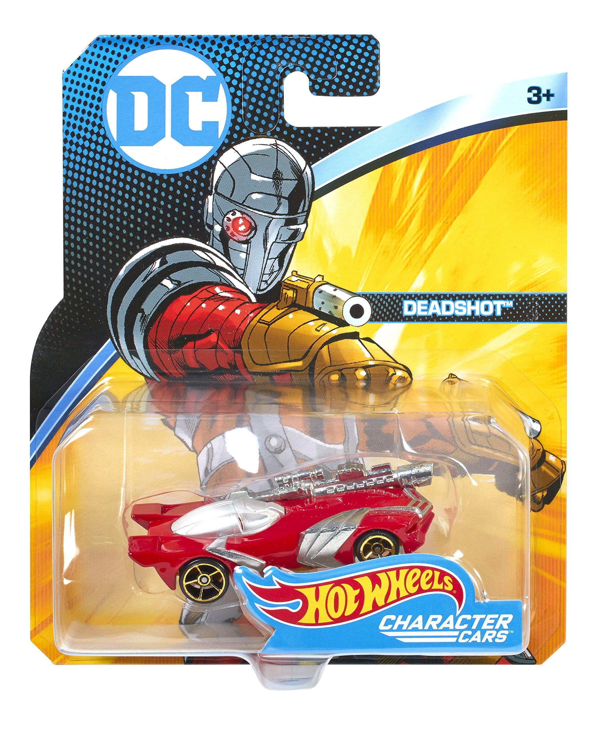 Hot Wheels DC Universe Deadshot Vehicle