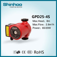 25-4S GPD Household Small Hot Water Solar System Pump