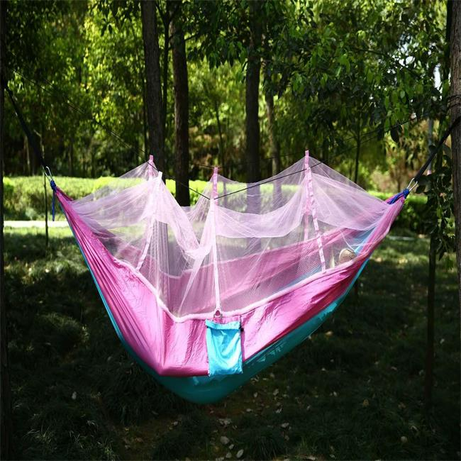 Bedding Earnest Ultralight Hanging Bed Mosquito Net Outdoor Hunting Hammock Camping Mosquito Net For 2 Person Travel Home Travel Net Leisure Bedding Sets