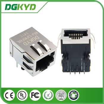 Krj-13fwdfknl 8p8c Ethernet Jack Cat5 Integrated Rj45 Connector ...