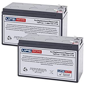 APC Back-UPS XS 1500 Replacement Battery Set of 2