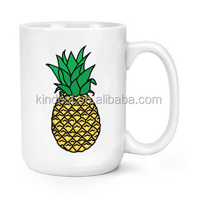 Custom Pineapple 15oz Mighty Mug Cup Big Large Funny Fruit supplier