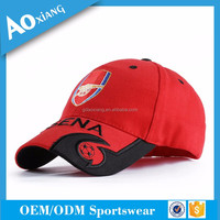Sports headwear custom hot selling 6 panel wholesale baseball cap hats