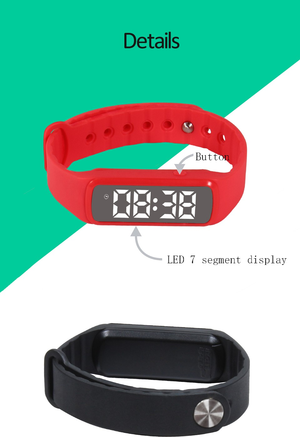 CE RoHs 3d pedometer fitness tracker waterproof timer smart watch kids