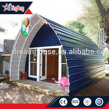 China prefab houses /diy prefab house /prefab dome house in woods