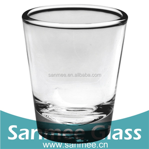 Heavy Good Quality Vodka Shot Glass Cup Bar Use