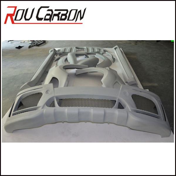 Custom Car Body Parts : Custom fiberglass auto body kits en onderdelen voor