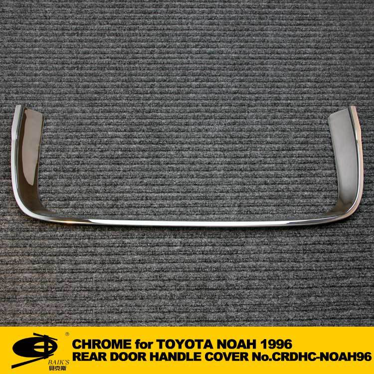 ABS chrome rear door handle cover for TOYOTA NOAH 96