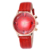 Luxury Women Diamond Watch MASHALI Brand Genuine Leather Quartz Reloj
