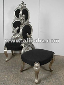 Royal Silver Neo Rococo Luxury Fabulous Modern Baroque Dining Living Room  Sets Antique Furniture Reproductions Egypt