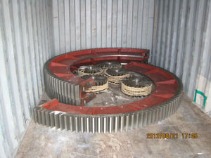 Two-Piece Steel Split Gear for Ball Mill Drive