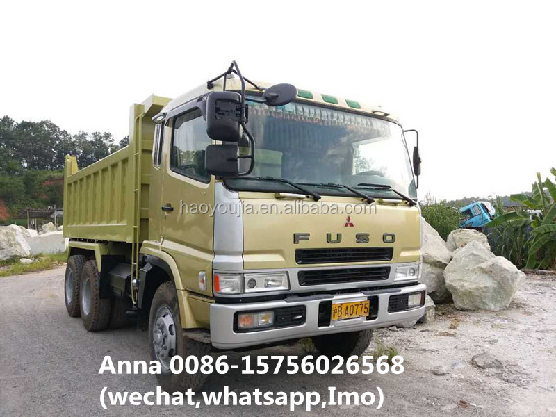 Japan mitsubishi Fuso 10 tires tipper truck from china