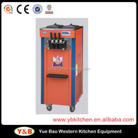 Stainless Steel Soft Ice Cream Machine Used For Sale