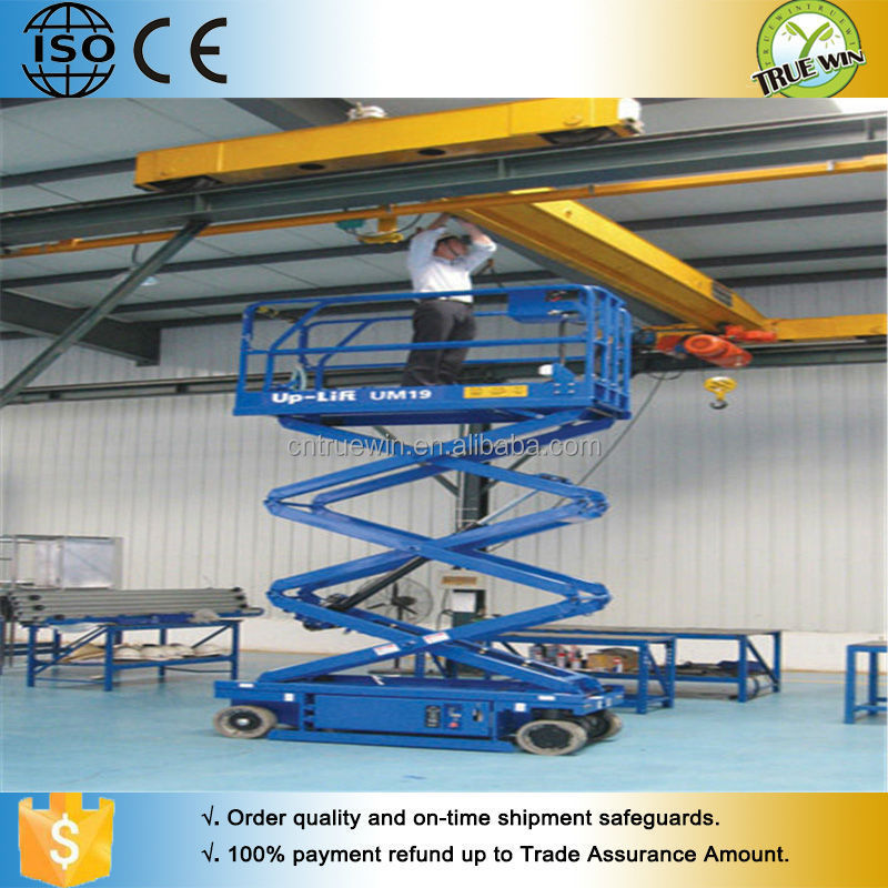 Remote control available Self-propelled Aerial Work Platform
