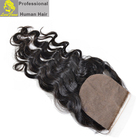 Luxefame Wholesale Top Grade Silk Base Closure,Brazilian Human Hair Body Wave/Silky Straight Wave 4x4 Silk Closure