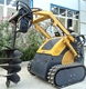 alibaba website factory direct sell mini fork grapple for skid loader