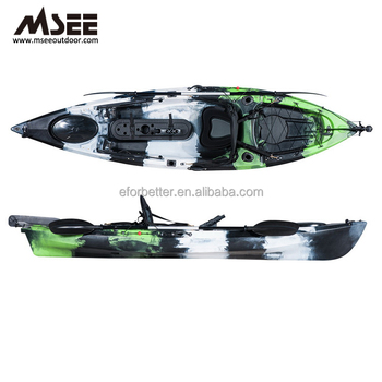 OEM Fishing Canoe Kayak With LLDPE Pedal Fishing Kayak Wholesale For Adults