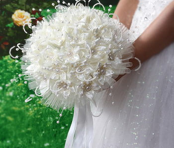Handmade Wedding Artificial Flower Bouquet Marking For Wedding
