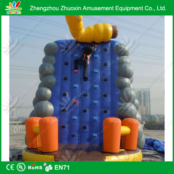 Sporting Playground Inflated Mountain Climbing Wall inflatable climbing gear