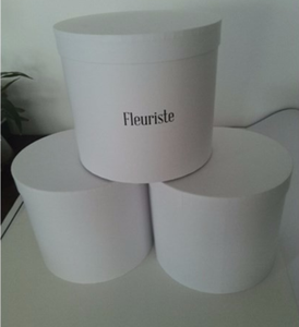 Paper flowers packaging tube round box paper tube white cardboard round box for rose flower packaging