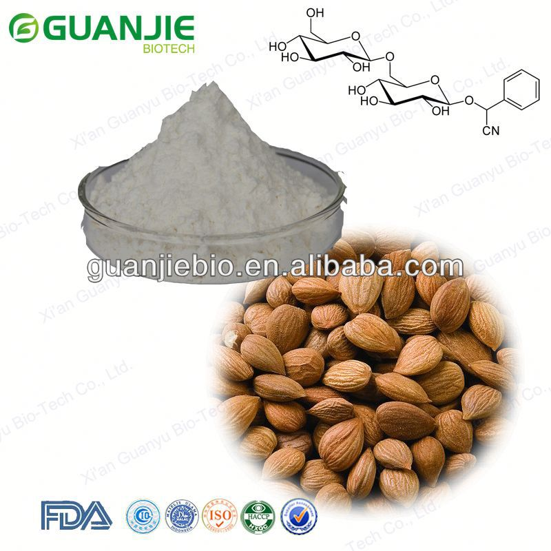 Manufacturer Supply Apricot Kernel Powder 98% Amygdalin/Vitamin B17