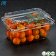 Disposable clear plastic blister clamshell fruit punnet container packaging box