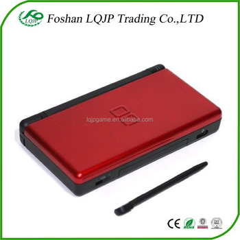 replacement crimson red black housing shell kit for ds lite for ndsl for dsl casing repair. Black Bedroom Furniture Sets. Home Design Ideas
