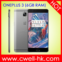 5.5 Inch snapdraon 820 Fingerprint Sensor NFC 6gb ram 64GB ROM Ultra Slim Metal Boday smart phone Original Oneplus 3