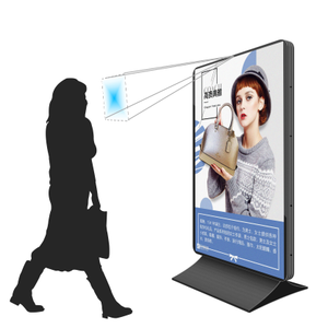 ultra thin outdoor advertising integrated wallboard led screen/dessert display/flexible led video display