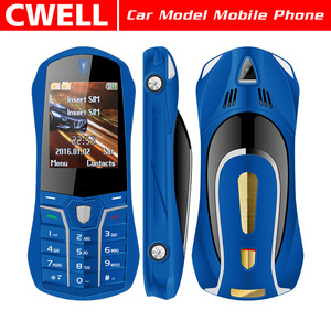 Wholesale 1.77 Inch Bar Style and Car Shaped Desgin Mobile Phone Dual SIM Card Mini Cell Phone