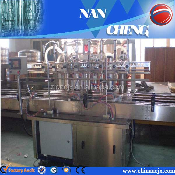Coconut Oil Bottle Filling Machines Refined Soybean Oil Filling Machine With Automatic Grade