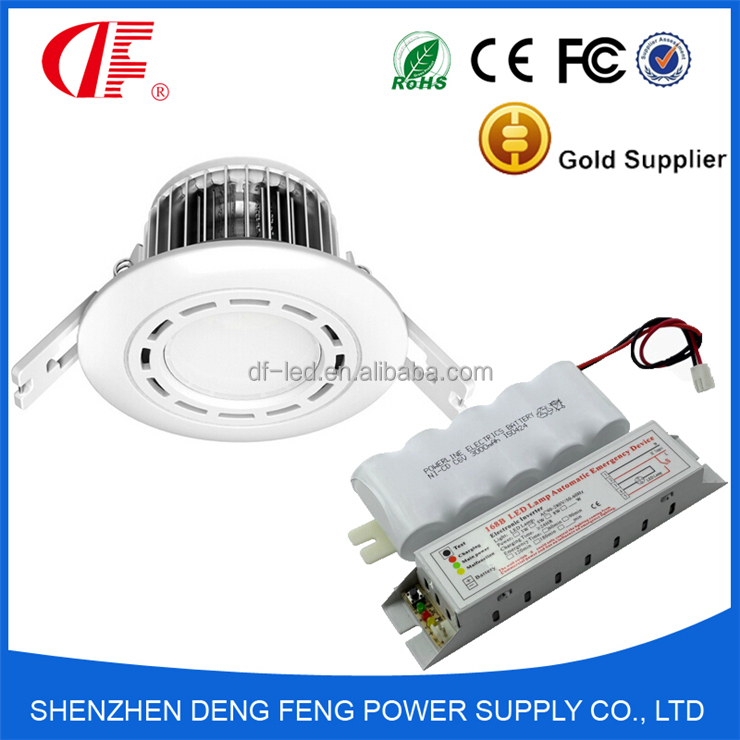 5 Watt 2hours Fire Rated Led Ip65 Emergency Downlight And ...