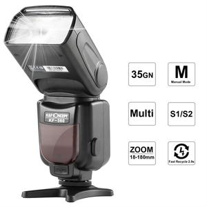 K&F Concept KF-560 Universal Speedlite Flash with LCD Display for DSLR Cameras