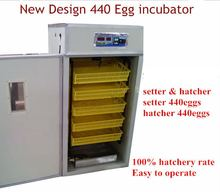 WQ-440 lowest price hatching eggs 400 chicken incubator for sale in China