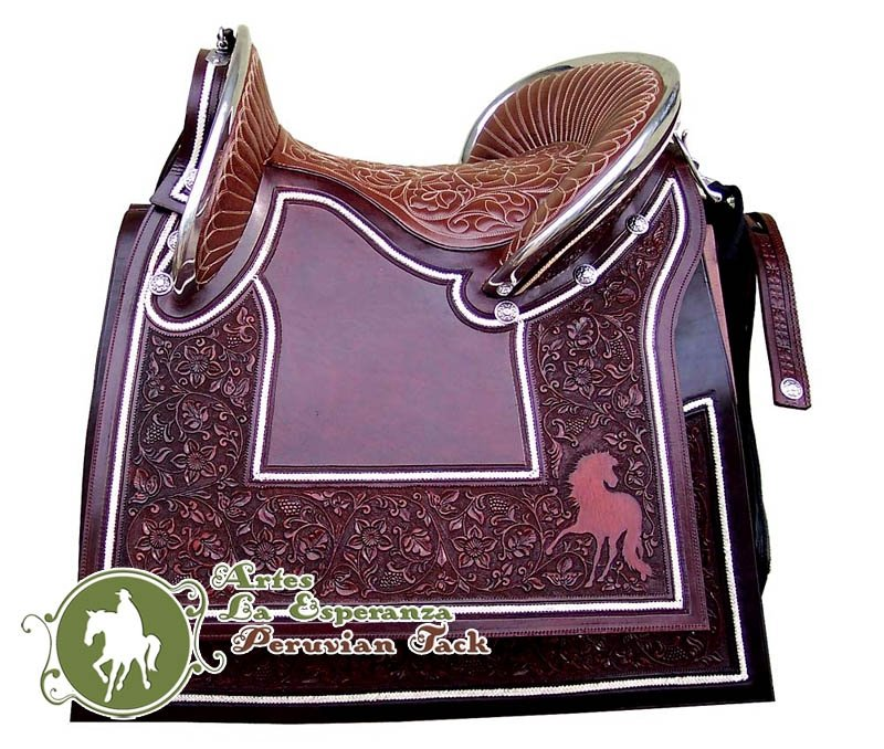 Peruvian Show Saddle 5