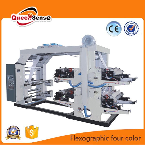 High Speed PVC UV Stack Label Paper CUP Plastic Film Bag 2 6 8 4 Colour Flexographic Flexo Printing Machine Price