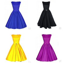 onen C89054A Simple Sexy Vintage Rockabilly Dress Evening Dresses