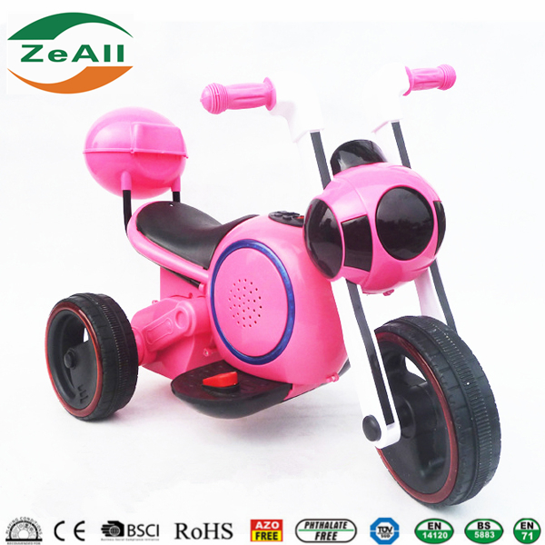 Flashing Subwoofer Ride On Toy Motorbike electric motorbike, Three Wheels Electric Motor Kids Motorbike Tri-scooter