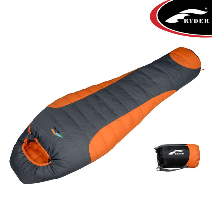 -10 Degree 700 Fill Goose Down Mummy Outdoor Sports Sleeping Bag